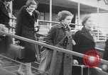 Image of German-Jewish refugees Harwich England, 1938, second 6 stock footage video 65675037207