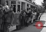 Image of loaded streetcar Germany, 1938, second 2 stock footage video 65675037224