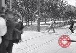 Image of loaded streetcar Germany, 1938, second 5 stock footage video 65675037224