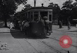 Image of loaded streetcar Germany, 1938, second 6 stock footage video 65675037224