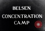 Image of Belsen concentration camp Lower Saxony Germany, 1945, second 3 stock footage video 65675037243