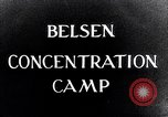 Image of Belsen concentration camp Lower Saxony Germany, 1945, second 4 stock footage video 65675037243