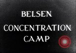 Image of Belsen concentration camp Lower Saxony Germany, 1945, second 6 stock footage video 65675037243