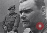 Image of Bergen Belsen concentration camp Lower Saxony Germany, 1945, second 7 stock footage video 65675037245