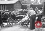 Image of concentration and death camp Mauthausen Austria, 1945, second 4 stock footage video 65675037261