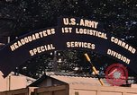 Image of 1st Logistic Command Special Services Division Vietnam, 1967, second 12 stock footage video 65675037267