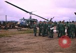 Image of 173rd Assault Helicopter Company Lai Khe South Vietnam, 1967, second 1 stock footage video 65675037274