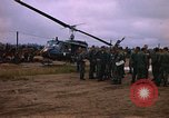 Image of 173rd Assault Helicopter Company Lai Khe South Vietnam, 1967, second 2 stock footage video 65675037274