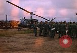 Image of 173rd Assault Helicopter Company Lai Khe South Vietnam, 1967, second 3 stock footage video 65675037274