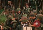 Image of US Army 1st Infantry soldiers South Vietnam, 1967, second 11 stock footage video 65675037279