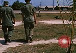 Image of 1st Infantry Division Stand Down Center Vietnam, 1969, second 5 stock footage video 65675037293