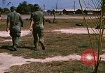 Image of 1st Infantry Division Stand Down Center Vietnam, 1969, second 6 stock footage video 65675037293