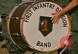 Image of 1st Infantry Division Stand Down Center Vietnam, 1969, second 2 stock footage video 65675037294