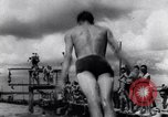 Image of prisoners swimming and playing Pacific theater, 1941, second 2 stock footage video 65675037310