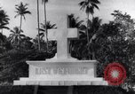 Image of Lest we forget memorial Pacific theater, 1941, second 10 stock footage video 65675037313