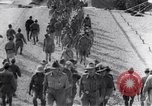 Image of ceremony at prison camp Pacific theater, 1941, second 3 stock footage video 65675037314
