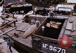 Image of scrap and cargo Saigon Vietnam, 1966, second 5 stock footage video 65675037336