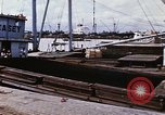 Image of Cargo being loaded in trucks Saigon Vietnam, 1966, second 8 stock footage video 65675037337