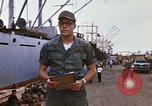 Image of United States army officer Saigon Vietnam, 1966, second 10 stock footage video 65675037339
