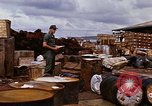Image of oil barrels Saigon Vietnam, 1966, second 11 stock footage video 65675037340