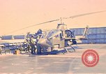 Image of helicopter Cobra Vung Tau Vietnam, 1970, second 12 stock footage video 65675037368