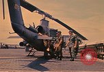 Image of Cobra or AH-1G Vung Tau Vietnam, 1970, second 9 stock footage video 65675037370