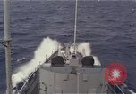 Image of United States Navy destroyer Pacific Ocean, 1967, second 1 stock footage video 65675037376