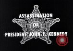 Image of Secret Service film reviewing assassination of President Kennedy Dallas Texas USA, 1964, second 2 stock footage video 65675037379