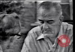 Image of Lyndon Johnson Texas United States USA, 1963, second 9 stock footage video 65675037397
