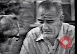 Image of Lyndon Johnson Texas United States USA, 1963, second 11 stock footage video 65675037397