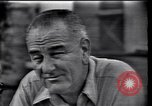 Image of Lyndon Johnson Texas United States USA, 1963, second 1 stock footage video 65675037398