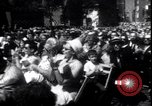 Image of Lyndon Johnson address crowd on Independence Day Philadelphia Pennsylvania USA, 1963, second 2 stock footage video 65675037401