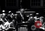 Image of Lyndon Johnson address crowd on Independence Day Philadelphia Pennsylvania USA, 1963, second 6 stock footage video 65675037401