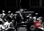 Image of Lyndon Johnson address crowd on Independence Day Philadelphia Pennsylvania USA, 1963, second 7 stock footage video 65675037401