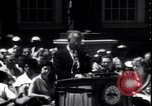 Image of Lyndon Johnson address crowd on Independence Day Philadelphia Pennsylvania USA, 1963, second 12 stock footage video 65675037401