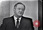 Image of Hubert H Humphery Washington DC USA, 1963, second 11 stock footage video 65675037402