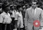 Image of Richard Nixon Angkor Cambodia, 1953, second 8 stock footage video 65675037410