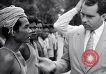 Image of Richard Nixon Angkor Cambodia, 1953, second 9 stock footage video 65675037410