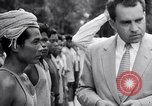 Image of Richard Nixon Angkor Cambodia, 1953, second 11 stock footage video 65675037410