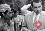 Image of Richard Nixon Angkor Cambodia, 1953, second 12 stock footage video 65675037410