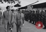 Image of Richarhd Nixon Saigon Vietnam, 1953, second 2 stock footage video 65675037413