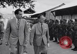 Image of Richarhd Nixon Saigon Vietnam, 1953, second 3 stock footage video 65675037413