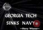 Image of Georgia Tech vs Navy Atlanta Georgia USA, 1946, second 1 stock footage video 65675037422
