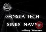 Image of Georgia Tech vs Navy Atlanta Georgia USA, 1946, second 3 stock footage video 65675037422