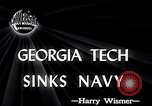 Image of Georgia Tech vs Navy Atlanta Georgia USA, 1946, second 4 stock footage video 65675037422
