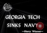 Image of Georgia Tech vs Navy Atlanta Georgia USA, 1946, second 5 stock footage video 65675037422