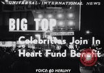 Image of circus benefit for New York Heart Fund New York City USA, 1951, second 1 stock footage video 65675037432