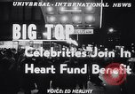 Image of circus benefit for New York Heart Fund New York City USA, 1951, second 5 stock footage video 65675037432