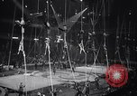 Image of circus benefit for New York Heart Fund New York City USA, 1951, second 9 stock footage video 65675037432