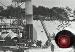 Image of A-4 missile launching in snow Peenemunde Germany, 1942, second 2 stock footage video 65675037444
